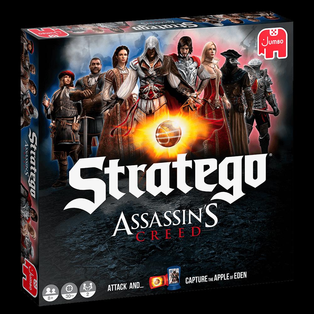 Schachtel Vorderseite- Stratego: Assassin's Creed