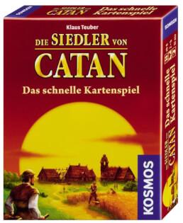 Schachtel Vorderseite- Catan - Das schnelle Kartenspiel