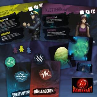 Spielmaterial- Sub Terra