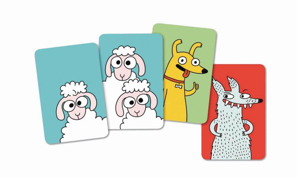 Spielkarten - empfohlen zum Kinderspiel des Jahres 2021- Swip
