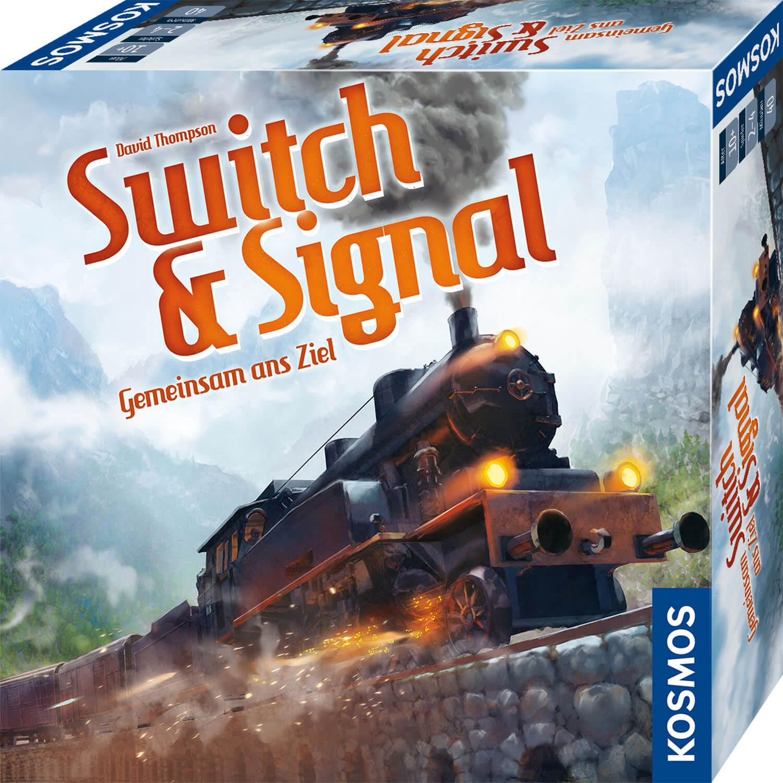 Schachtel Vorderseite- Switch & Signal