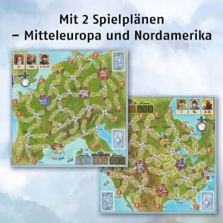 Spielpläne Mitteleuropa und Nordamerika- Switch & Signal