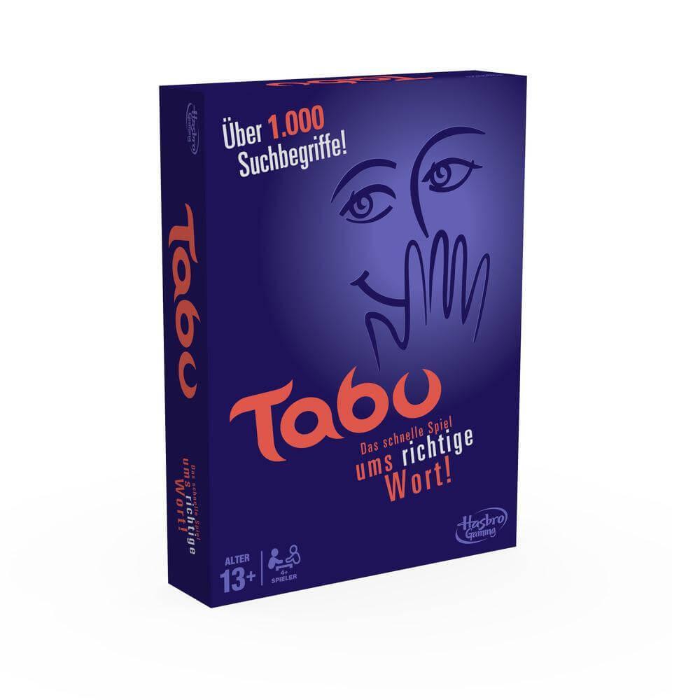 Schachtel Vorderseite- Tabu
