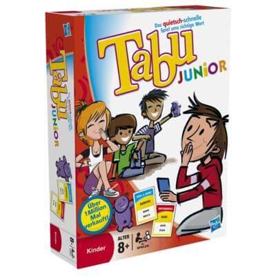Schachtel Vorderseite- Tabu Junior