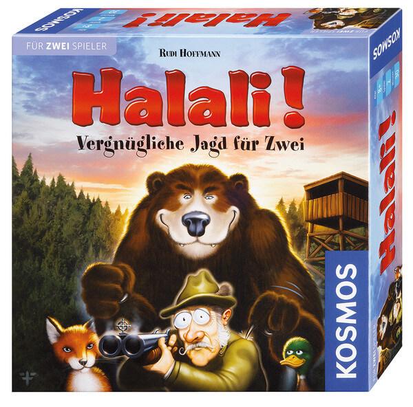 Schachtel Vorderseite- Halali!