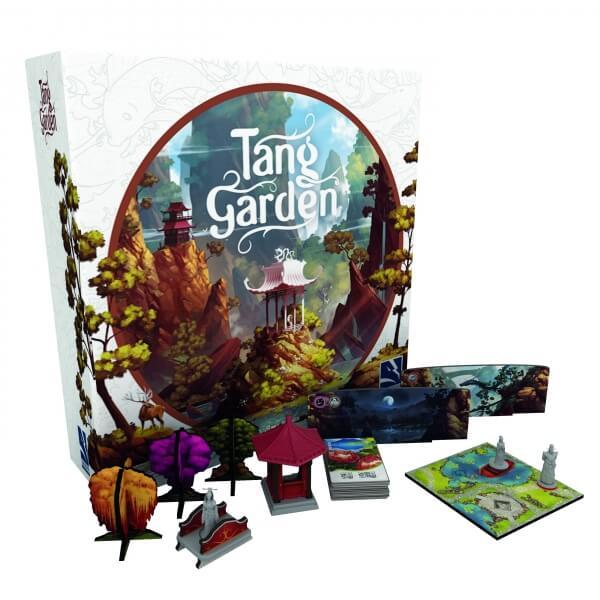 Schachtel und Spielmaterial- Tang Garden