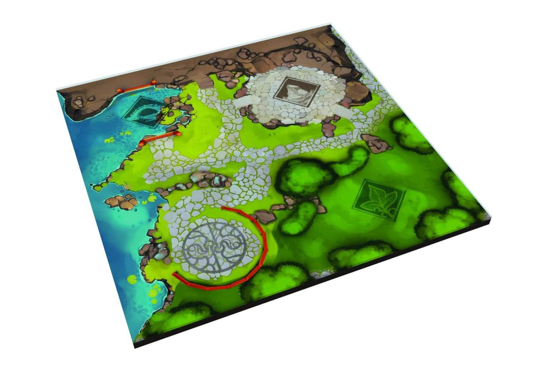 Spielplan- Tang Garden