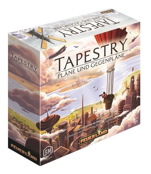 Schachtel Vorderseite- Tapestry - Pläne und Gegenpläne