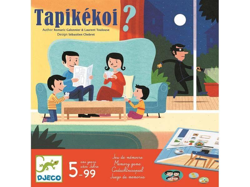 Schachtel Vorderseite - empfohlen zum Kinderspiel des Jahres 2021- Tapikékoi