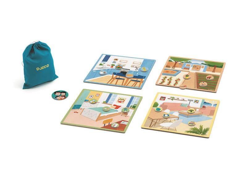 Spielmaterial - empfohlen zum Kinderspiel des Jahres 2021- Tapikékoi