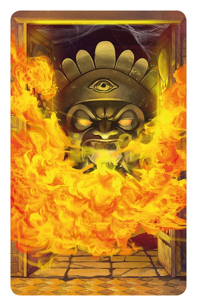 Feuerfalle - Abenteurer gegen Wächterinnen- Tempel des Schreckens