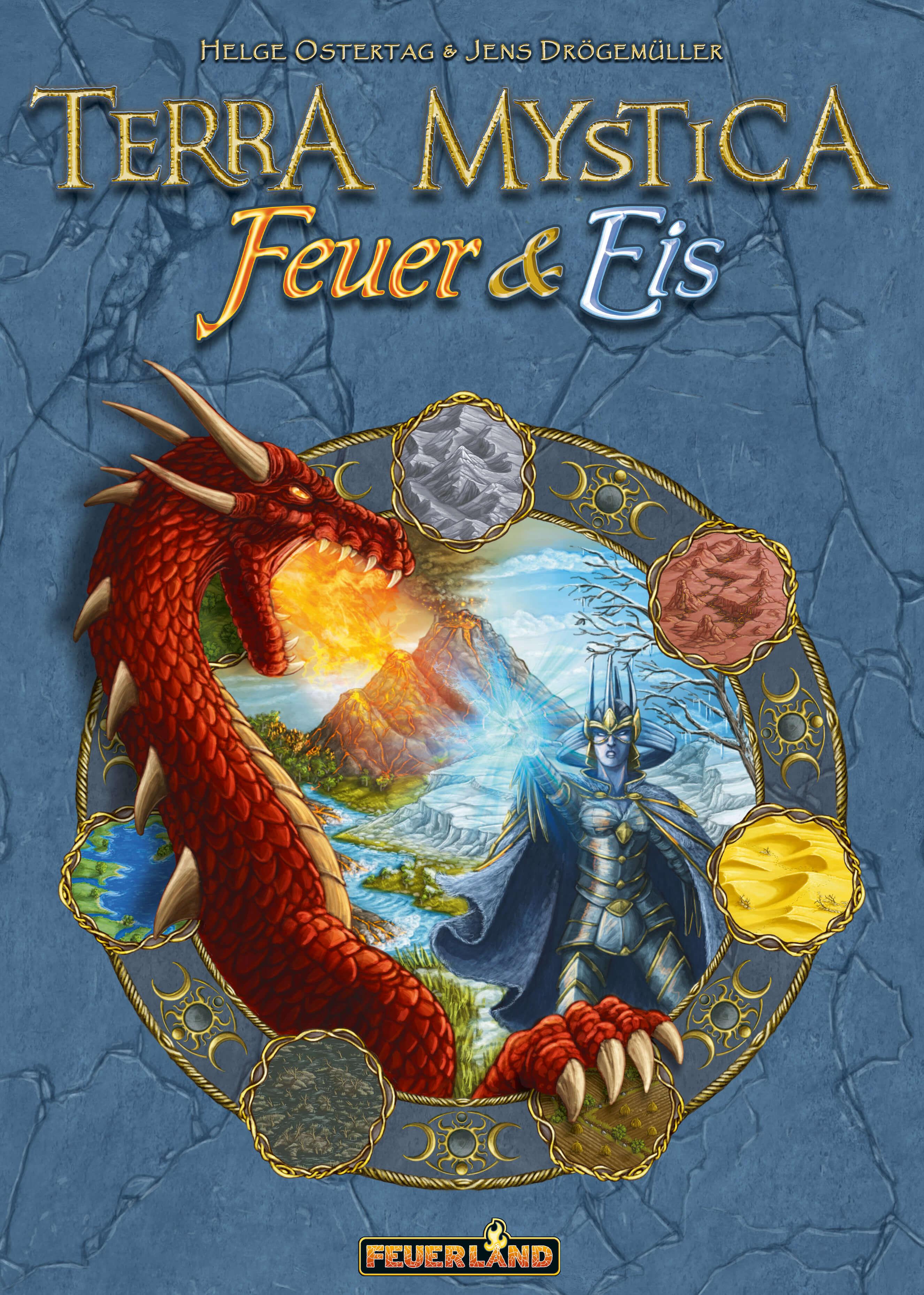 Cover- Terra Mystica: Feuer & Eis