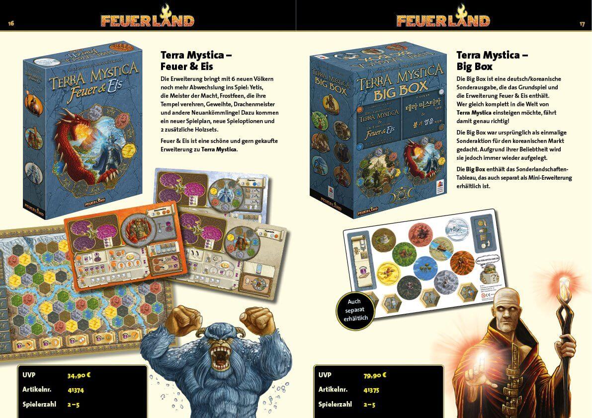 Spielbeschreibung- Terra Mystica: Feuer & Eis