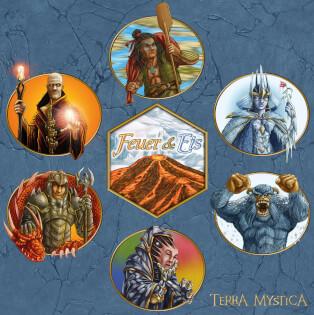 Neue Völker- Terra Mystica: Feuer & Eis