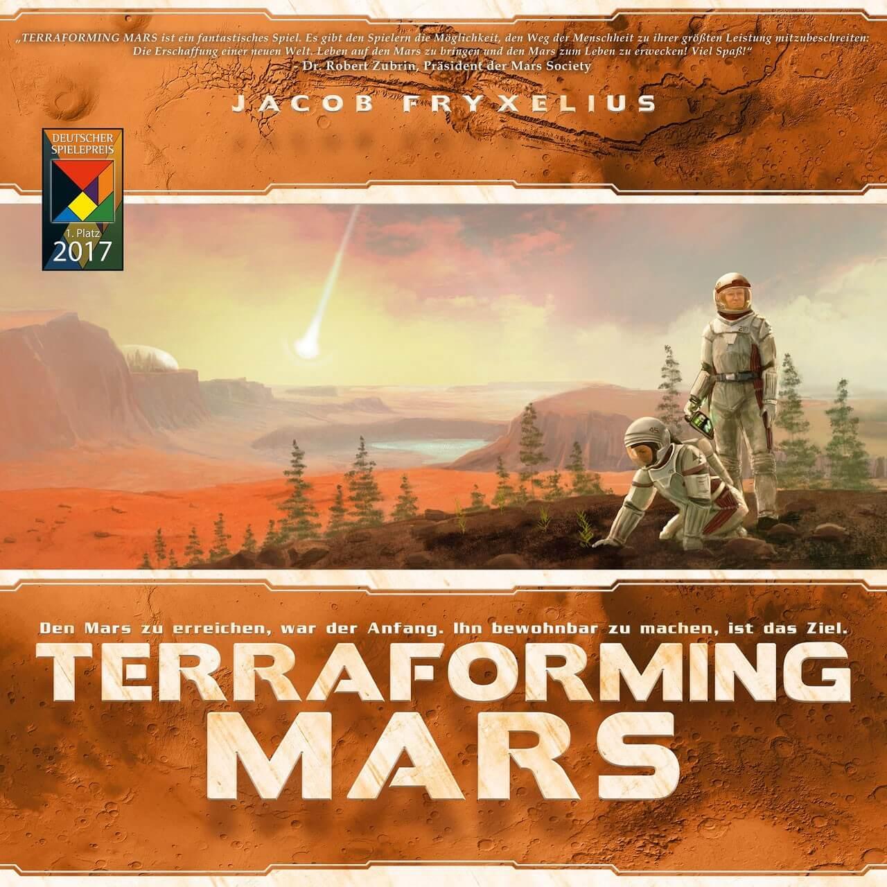 Schachtel Vorderseite- Terraforming Mars