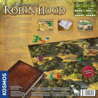 Schachtel Rückseite- Die Abenteuer des Robin Hood