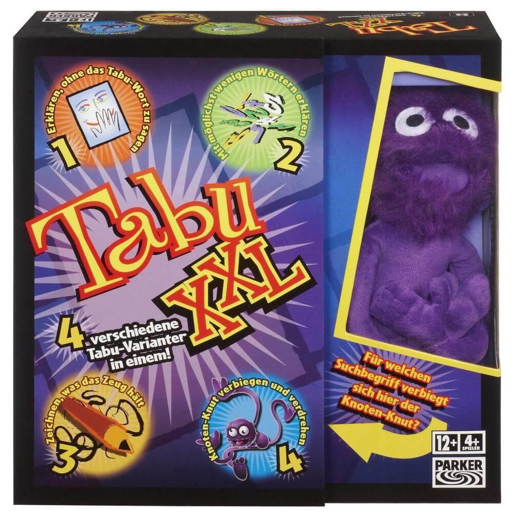 Schachtel Vorderseite- Tabu XXL