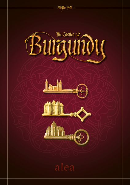 Cover- The Castles of Burgundy