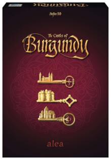 Schachtel Vorderseite- The Castles of Burgundy