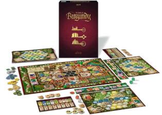 Spielmaterial - Schachtel, Spielbrett und Figuren- The Castles of Burgundy