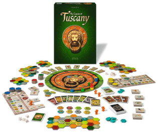 Spielmaterial- The Castles of Tuscany