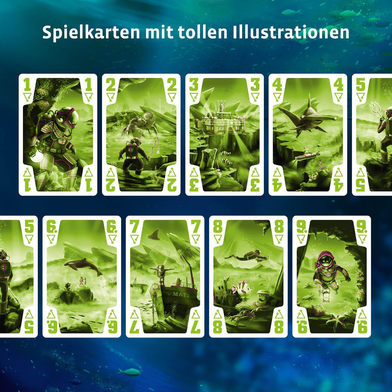 Spielkarten- Die Crew: Mission Tiefsee
