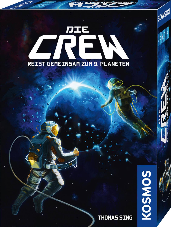 Schachtel Vorderseite - Kennerspiel des Jahres 2020- Die Crew