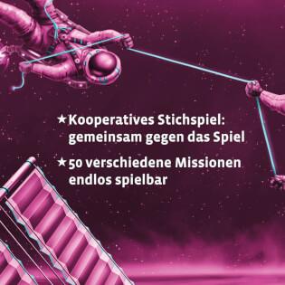 Beschreibung Kooperatives Stichspiel - Kennerspiel des Jahres 2020- Die Crew