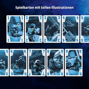 Spielkarten mit tollen Illustrationen - Kennerspiel des Jahres 2020- Die Crew