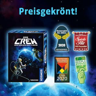 Auszeichnungen - Kennerspiel des Jahres 2020- Die Crew
