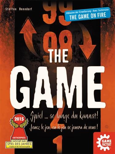 Cover - nominiert zum Spiel des Jahres 2015- The Game