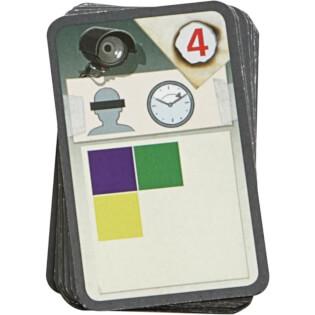 Spielkarte - nominiert zum Spiel des Jahres 2021- The Key - Raub in der Cliffrock Villa