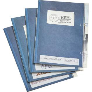 Fallakten - nominiert zum Spiel des Jahres 2021- The Key - Raub in der Cliffrock Villa