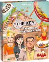Schachtel Vorderseite - nominiert zum Spiel des Jahres 2021 - The Key - Sabotage im Lucky Lama Land