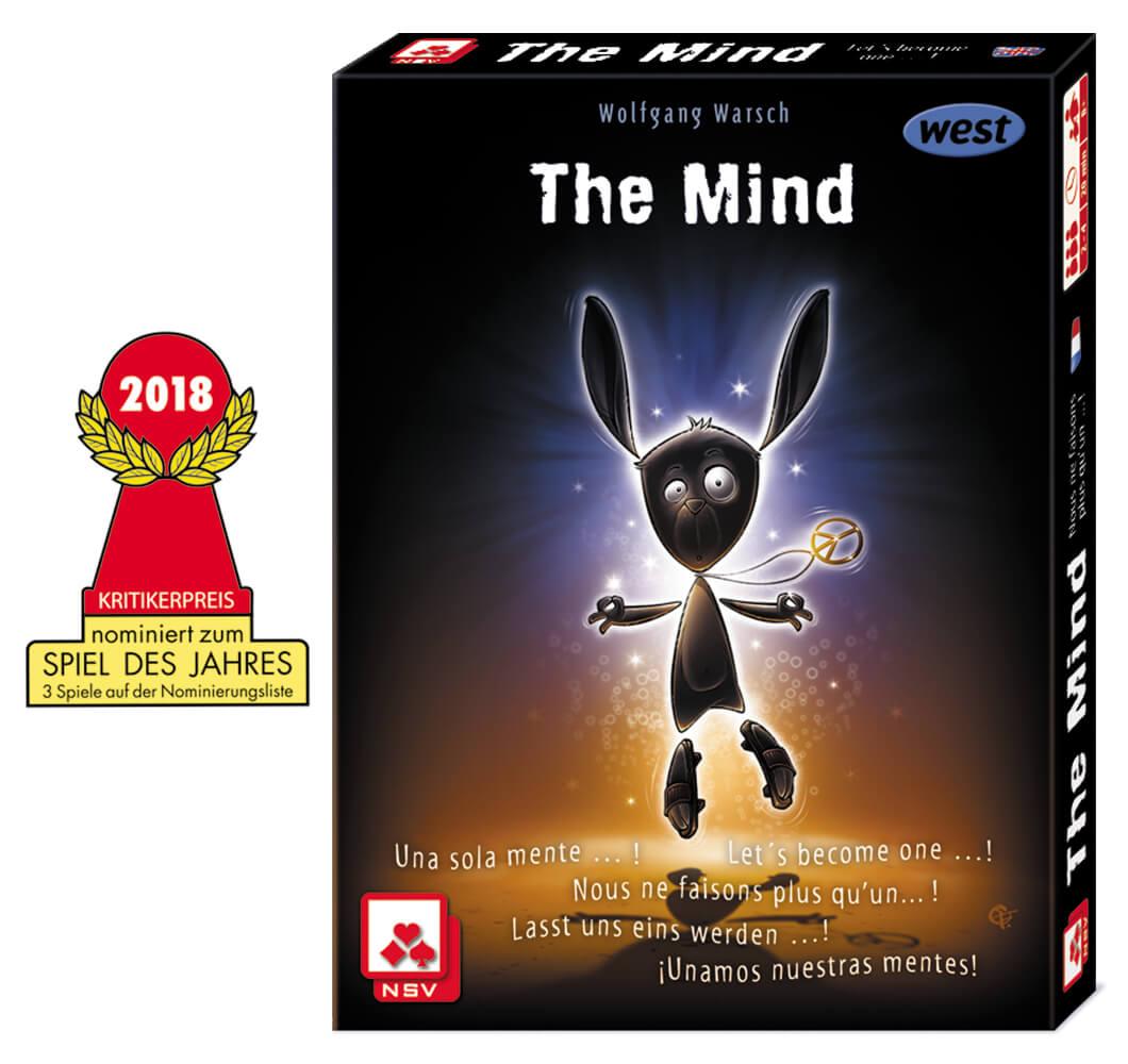 Spieleschachtel - nominiert zum Spiel des Jahres 2018- The Mind