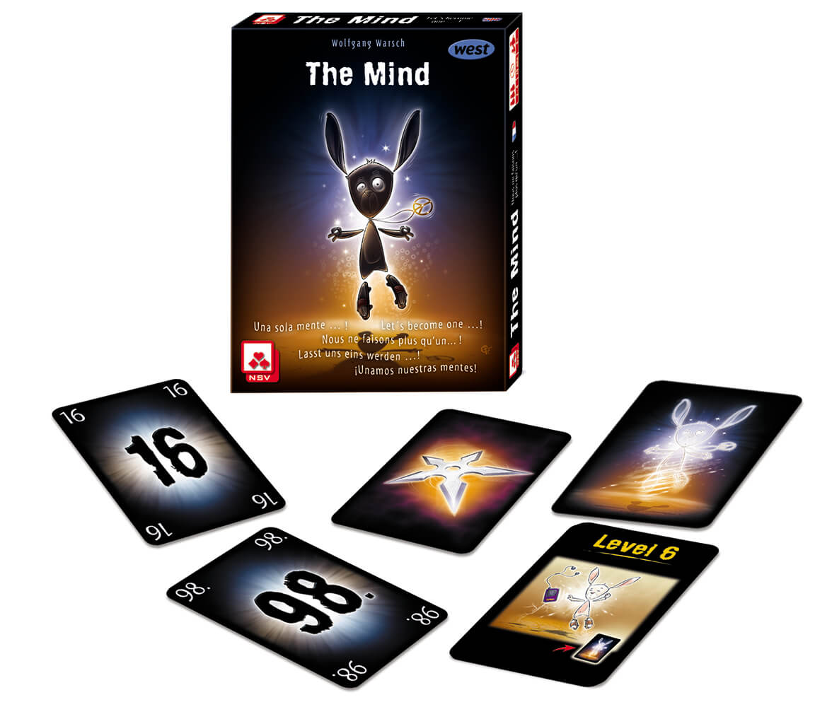 Schachtel mit Spielkarten- The Mind