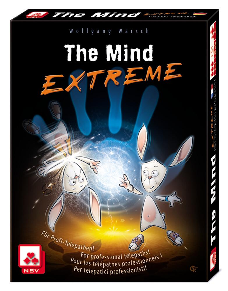 Schachtel Vorderseite - The Mind - Extreme