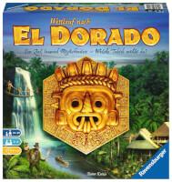 Schachtel Vorderseite - nominiert zum Spiel des Jahres 2017 - Wettlauf nach El Dorado
