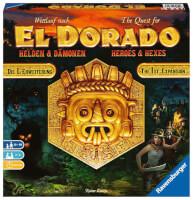 Schachtel Vorderseite - Wettlauf nach El Dorado - Helden und Dämonen