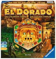 Schachtel Vorderseite - Die eigenständige Fortsetzung der Abenteuer-Saga - Wettlauf nach El Dorado - Die goldenen Tempel