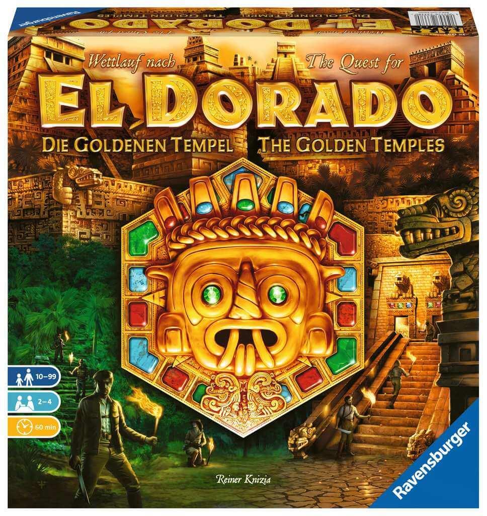Schachtel Vorderseite - Die eigenständige Fortsetzung der Abenteuer-Saga- The quest for El Dorado - The golden temples