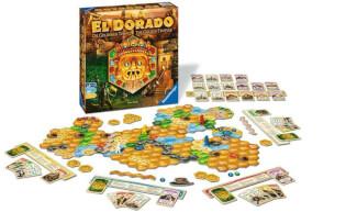 Schönes Spielmaterial mit Schachtel - Die eigenständige Fortsetzung der Abenteuer-Saga- The quest for El Dorado - The golden temples