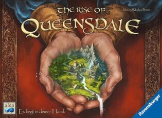 Schachtel Vorderseite- The Rise of Queensdale