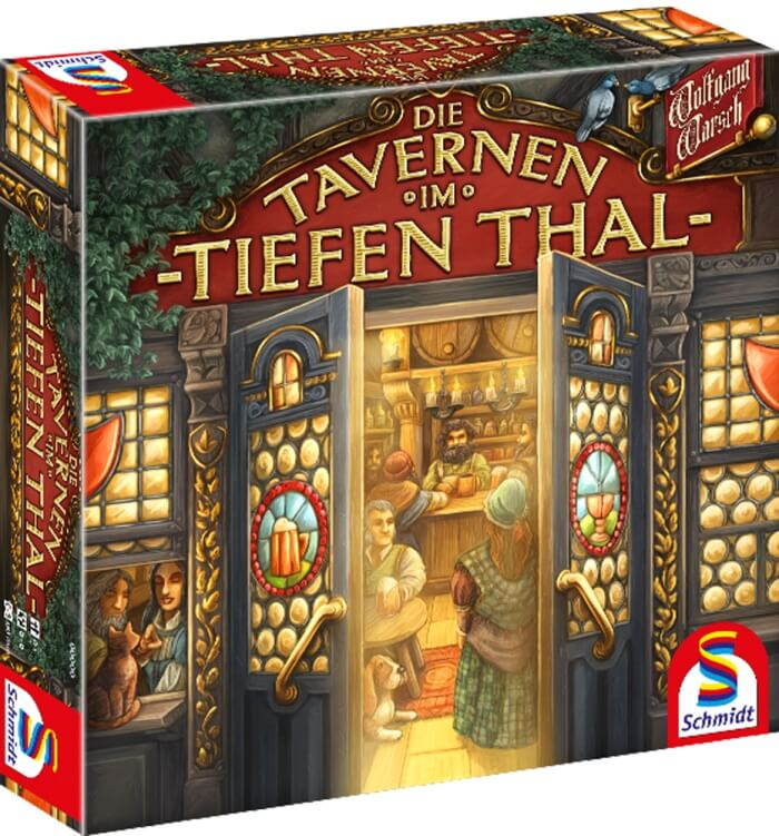 Schachtel Vorderseite- Die Tavernen im Tiefen Thal