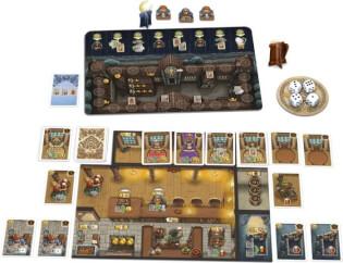 Spielmaterial- Die Tavernen im Tiefen Thal