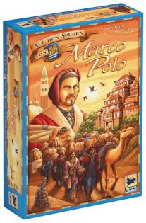 Schachtel Vorderseite- Auf den Spuren von Marco Polo