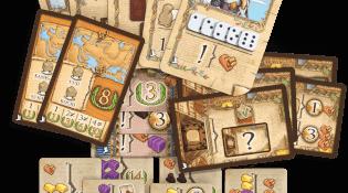 Erweiterung - Karten und Plättchen- Marco Polo - Die Gefährten