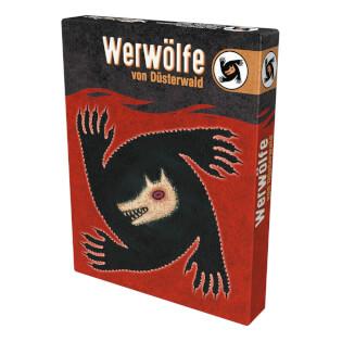 Schachtel Vorderseite- Die Werwölfe von Düsterwald
