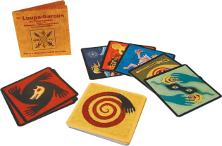 Spielkarten und Anleitung- Die Werwölfe von Düsterwald