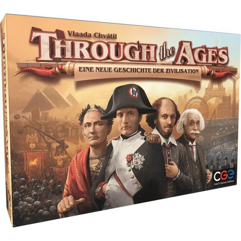 Schachtel Vorderseite- Through the Ages